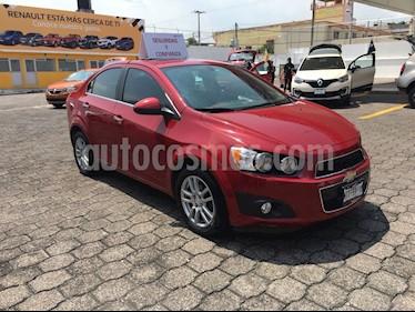 Foto venta Auto Seminuevo Chevrolet Sonic LTZ Aut (2015) color Rojo Tinto precio $165,000