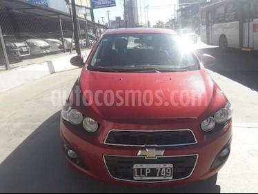 Foto venta Auto Usado Chevrolet Sonic  LTZ (2012) color Rojo precio $275.000