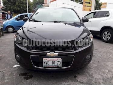 Foto venta Auto Usado Chevrolet Sonic LTZ (2015) color Negro precio $169,000