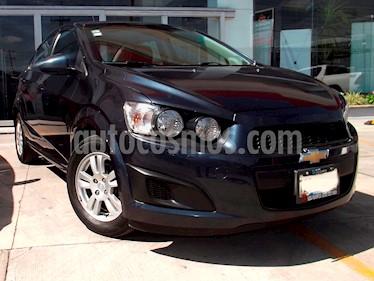 Foto venta Auto Seminuevo Chevrolet Sonic Paq A (2016) color Azul Electrico precio $179,000