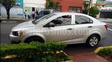 Foto venta Auto Seminuevo Chevrolet Sonic Paq A (2012) color Plata precio $115,000