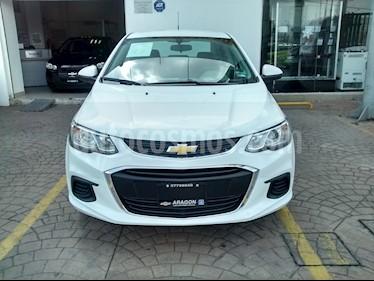 Foto venta Auto Usado Chevrolet Sonic Paq D (2017) color Blanco Galaxia precio $220,000