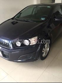 Foto venta Auto Seminuevo Chevrolet Sonic Paq D (2016) color Azul precio $180,000