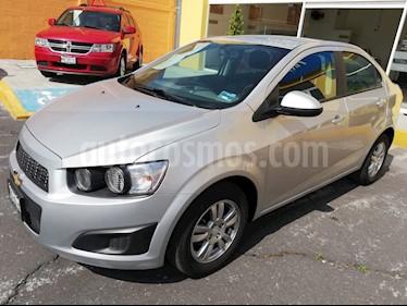 Foto venta Auto Seminuevo Chevrolet Sonic Paq D (2016) color Plata precio $170,000