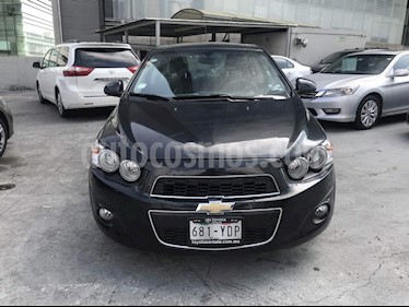 Foto venta Auto Seminuevo Chevrolet Sonic Paq D (2012) color Gris precio $132,000