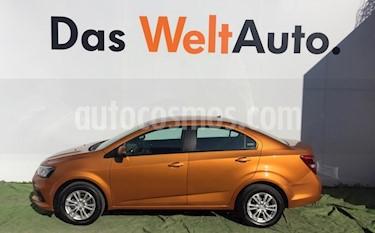 Foto venta Auto Seminuevo Chevrolet Sonic Paq D (2017) color Ocre precio $199,000