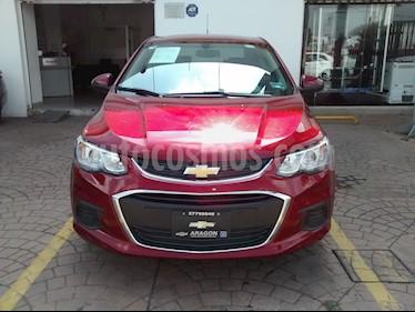 Foto venta Auto usado Chevrolet Sonic Paq D (2017) color Rojo Tinto precio $204,000