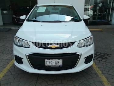 Foto venta Auto usado Chevrolet Sonic Paq E (2017) color Blanco Galaxia precio $210,000