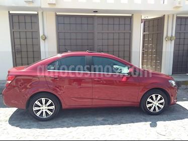 Foto venta Auto usado Chevrolet Sonic Premier Aut (2017) color Rojo precio $210,000