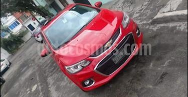 Foto venta Auto usado Chevrolet Sonic Premier Aut (2017) color Rojo precio $205,000