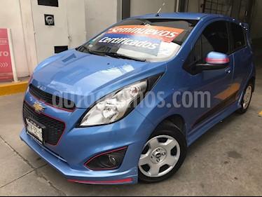 Foto venta Auto Usado Chevrolet Spark Classic LT (2015) color Azul Denim precio $113,000