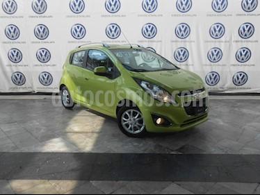 Foto venta Auto Usado Chevrolet Spark Classic LTZ (2017) color Verde precio $144,000