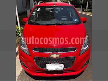 Foto venta Auto usado Chevrolet Spark Classic LTZ (2017) color Rojo precio $154,000