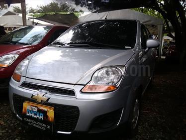 Chevrolet Spark 1.0L  usado (2017) color Plata precio $24.000.000