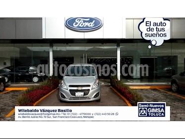 Foto venta Auto Usado Chevrolet Spark LS (2017) color Plata precio $109,000