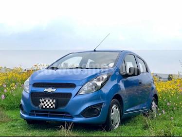 Foto venta Auto usado Chevrolet Spark LT (2014) color Azul Denim precio $100,000