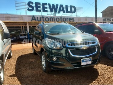 Foto venta Auto Usado Chevrolet Spin 1.8 Nafta LTZ MT 7 plazas (2013) color Verde precio $365.000