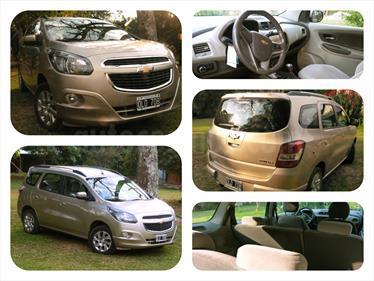 Foto venta Auto Usado Chevrolet Spin LTZ 1.3 7 Pas TDi (2014) color Beige Desert precio $290.000
