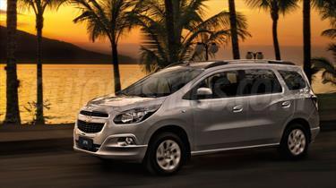 Foto venta Auto nuevo Chevrolet Spin LTZ 1.8 7 Pas Aut color Blanco Summit precio $635.000