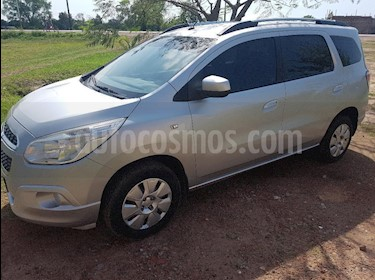 Foto venta Auto usado Chevrolet Spin LTZ 1.8L Die 5 Pas (2014) color Gris Claro precio $350.000