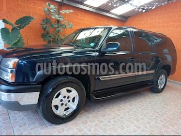 Foto venta Auto usado Chevrolet Suburban LT Piel (2004) color Azul precio $110,000