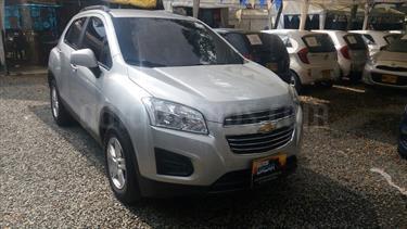 Chevrolet Tracker 1.8 LS usado (2016) color Plata precio $55.000.000