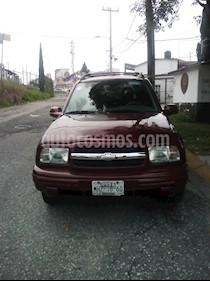 Foto venta Auto usado Chevrolet Tracker 4x4 Hard Top (2003) color Rojo Vivo precio $65,000