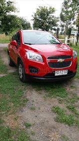 Foto venta Auto usado Chevrolet Tracker LS (2016) color Rojo Burdeos precio $9.500.000