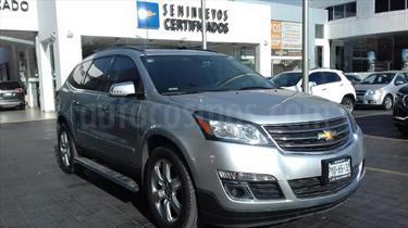 Foto venta Auto usado Chevrolet Traverse LT Piel (2015) color Plata precio $435,000