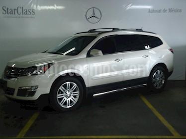 Foto venta Auto Usado Chevrolet Traverse LT Piel (2014) color Blanco precio $339,000