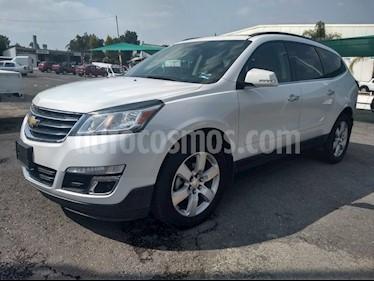 Foto venta Auto Usado Chevrolet Traverse LT Piel (2016) color Blanco precio $449,500