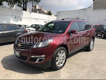 Foto venta Auto Usado Chevrolet Traverse LT Piel (2015) color Vino Tinto precio $369,000