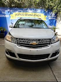Foto venta Auto Seminuevo Chevrolet Traverse LT Piel (2016) color Plata Brillante precio $395,000