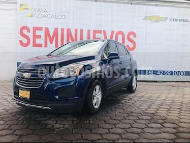 Foto venta Auto Seminuevo Chevrolet Trax LT (2016) color Azul precio $225,000
