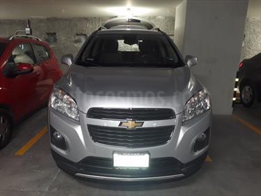 Foto venta Auto usado Chevrolet Trax LTZ (2015) color Gris Plata  precio $230,000
