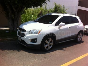 Foto venta Auto Seminuevo Chevrolet Trax LTZ (2014) color Blanco Galaxia precio $220,000