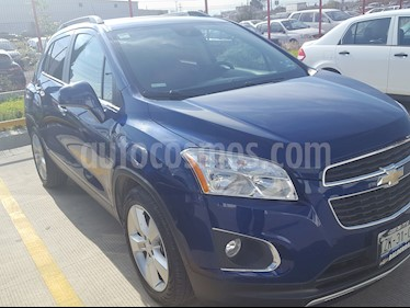 Foto venta Auto Seminuevo Chevrolet Trax LTZ (2014) color Azul Metalico precio $193,299