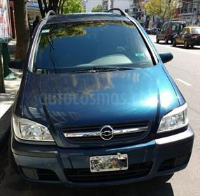 Foto venta Auto usado Chevrolet Zafira GL (2005) color Azul precio $153.000