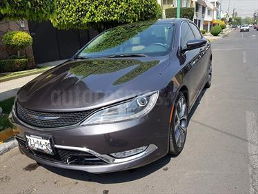 Foto venta Auto Seminuevo Chrysler 200 200C Advance (2015) color Gris Oxford precio $249,900