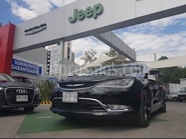 Foto venta Auto Usado Chrysler 200 200C Advance (2015) color Negro precio $265,000