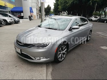 Foto venta Auto Seminuevo Chrysler 200 200C Advance (2015) color Plata Martillado precio $280,000