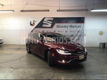 Foto venta Auto Seminuevo Chrysler 200 200C (2015) color Vino Tinto precio $255,000