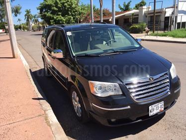Foto venta Auto usado Chrysler Town and Country Limited 4.0L (2008) color Negro precio $155,000