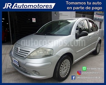 Foto venta Auto Usado Citroen C3 1.4 HDi Exclusive (2004) color Gris Plata