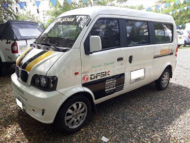 Foto venta Carro usado DFSK Van Pasajeros C37 1.3L 7Pas (2015) color Blanco precio $32.000.000