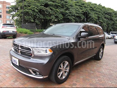 Dodge Durango 3.6L Limited Plus usado (2015) color Gris Nocturno precio $104.900.000
