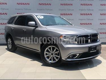 Foto venta Auto Seminuevo Dodge Durango 3.6L V6 SXT PLUS (2015) color Plata Martillado precio $379,000