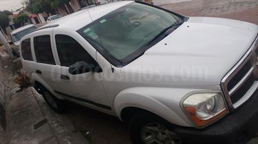 Foto venta Auto usado Dodge Durango 4.7L SLT 4x2 (2005) color Blanco precio $60,000