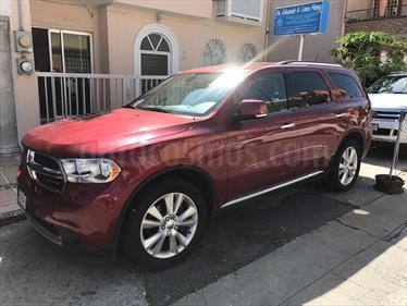 Foto venta Auto usado Dodge Durango 5.7L Crew Luxe 4x2 V8  (2013) color Rojo y Gris Oscuro precio $295,000