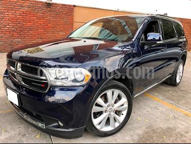 Foto venta Auto Seminuevo Dodge Durango 5.7L Crew Luxe 4x2 V8 (2012) color Azul Mora precio $244,000